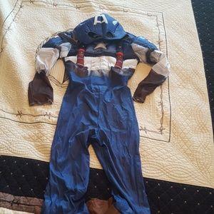 Other - Boys Captin America Costume